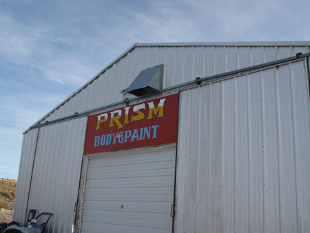 Prism Body and Paint
